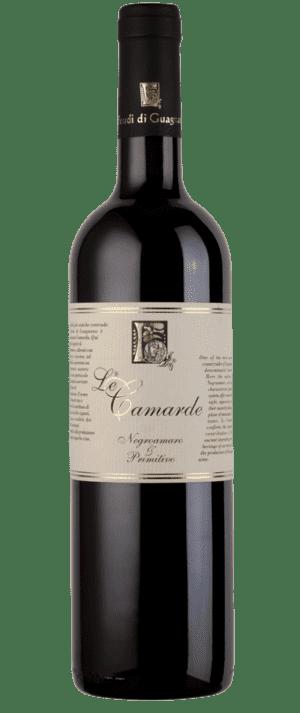 vino rosso le camarde feudi di guagnano