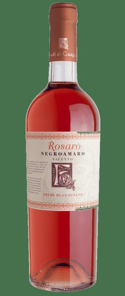 vino rosato rosarò negroamaro feudi di guagnano