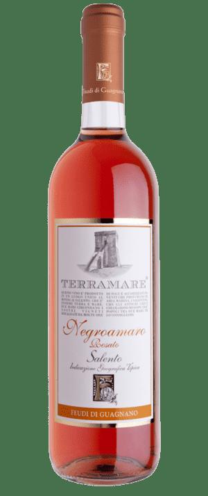 vino rosato terramare negroamaro feudi di guagnano