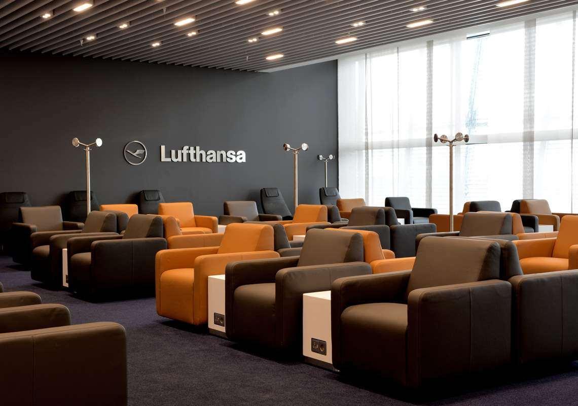 I vini Feudi di Guagnano nei vip della Lounge Lufthansa