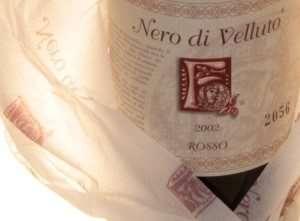 Nero di Velluto riserva vino feudi di guagnano