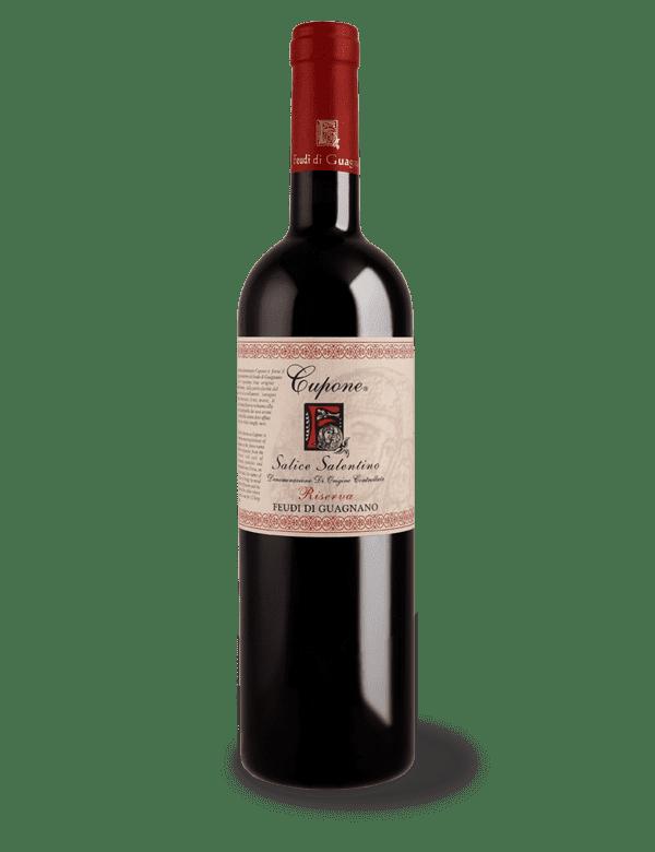 vino rosso riserva cupone feudi di guagnano