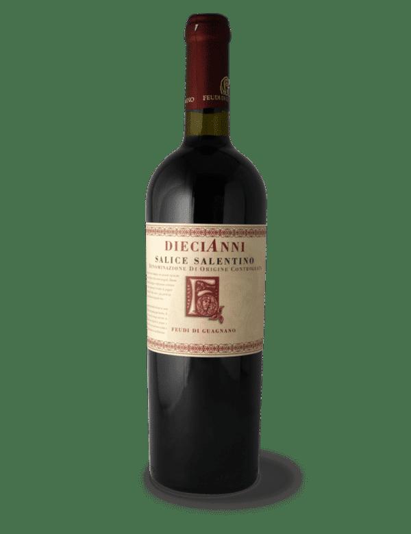 vino rosso salice salentino doc feudi di guagnano