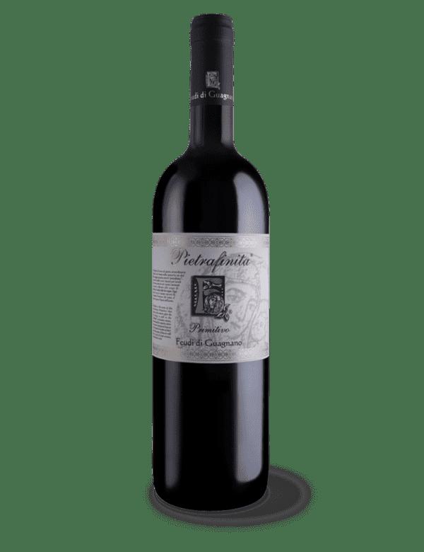 vino rosso pietrafinita primitivo feudi di guagnano