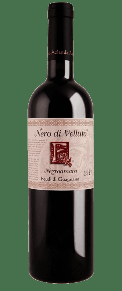 nero di velluto vino rosso feudi di guagnano