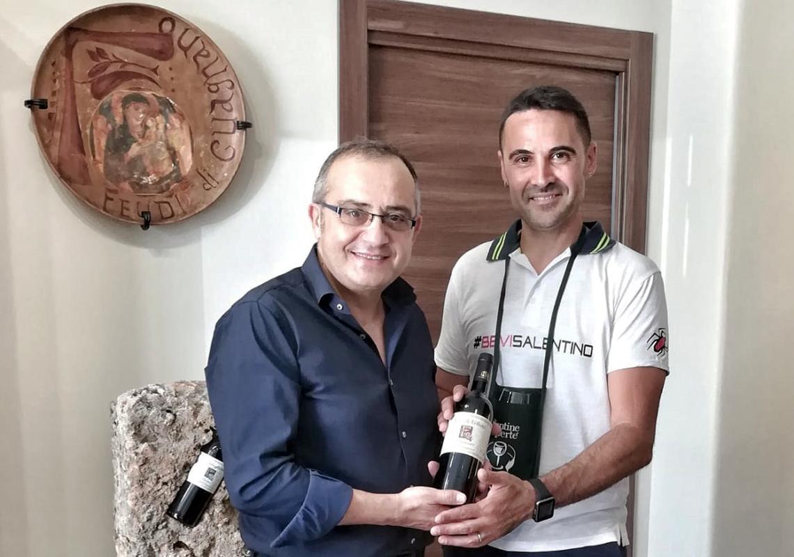 Feudi di Guagnano raccontata da…Stefano Spagnolo, patron di salentowineshop.com