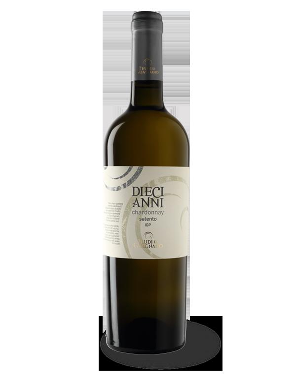 diecianni cherdonnay salento IGP feudi di guagnano
