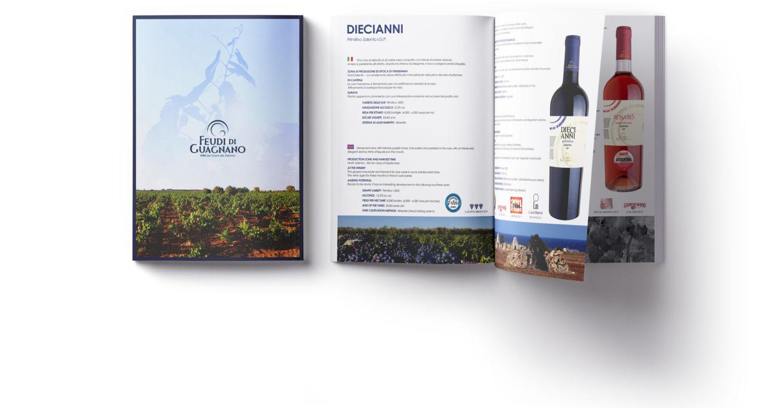 feudi di guagnano catalogo vini 2019