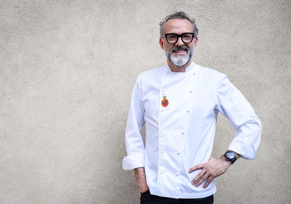 L'Animè servito alla cena di beneficenza con lo chef Massimo Bottura