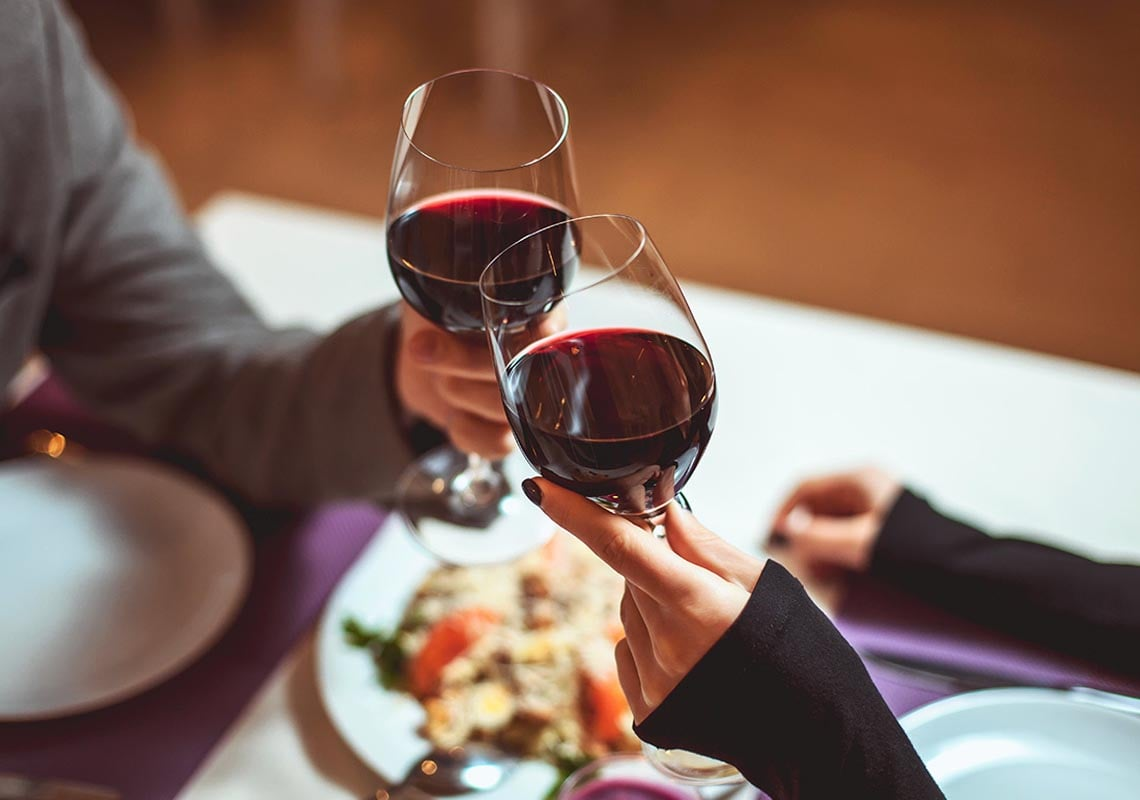 Vino rosso: proprietà e benefici sulla salute