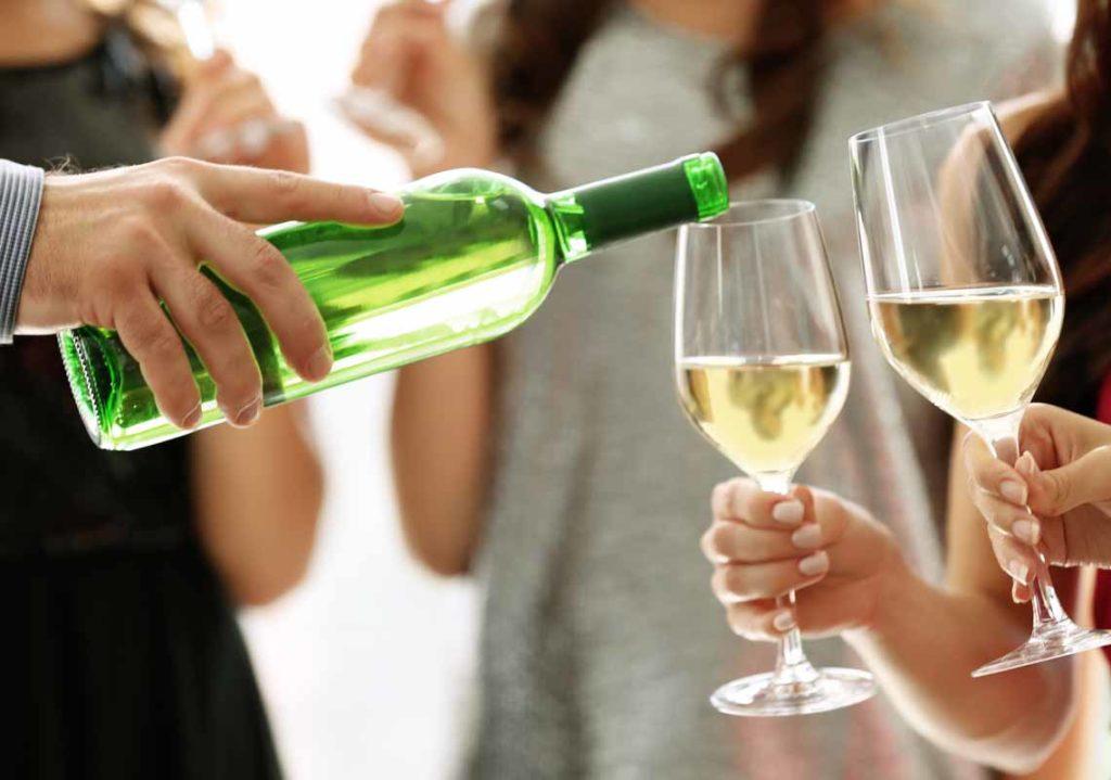 temperatura servizio vino bianco