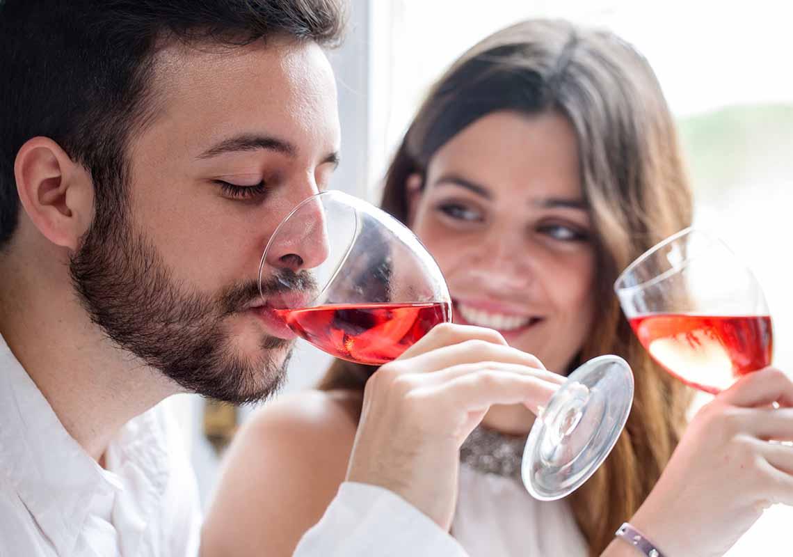 La temperatura ideale per servire il vino