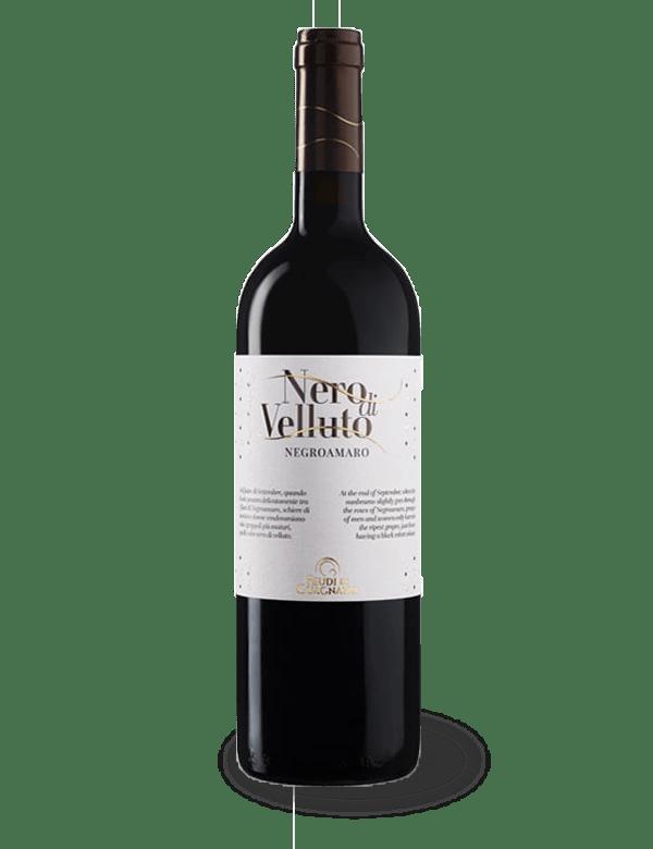salento vino rosso riserva nero di velluto feudi di guagnano