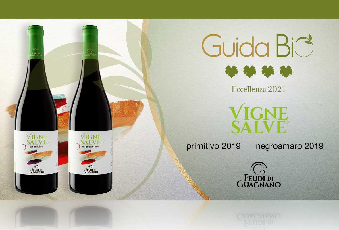 La new entry dei vini Vignesalve in Guida Bio è all'insegna dell'eccellenza!